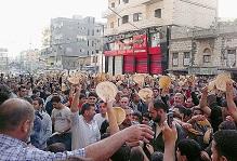 l'Iran manif