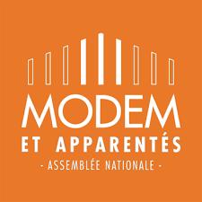 groupe Modem Assemblée nationale interviw des minitres (jacqueline Gourault) et de patrick Mignola nouveau présidente des députés MoDem